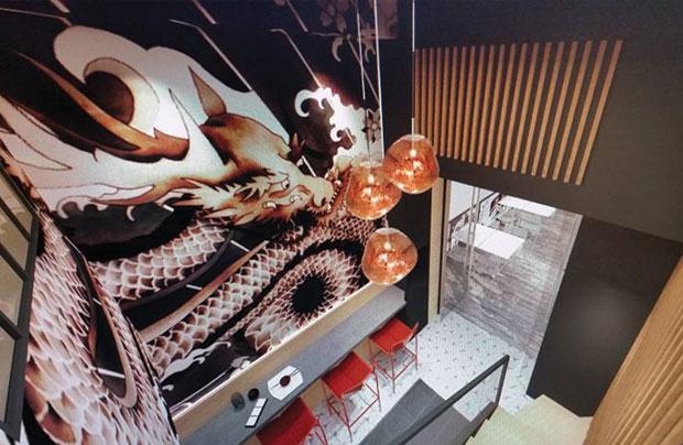 R server koi sushi bar for Koi aix en provence
