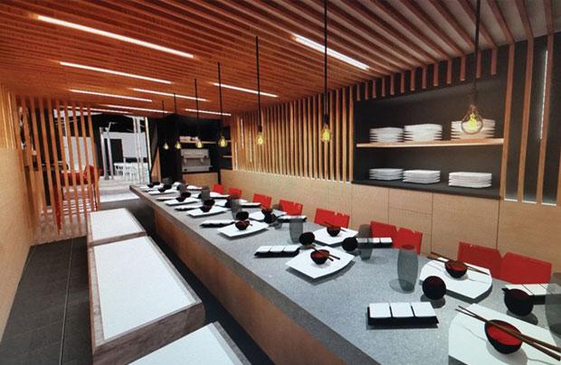 R server koi sushi bar for Koi sushi aix