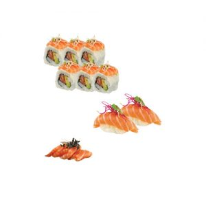 Plateau 7 californias sushi sashimi