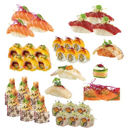 Plateau 17 koi sushi bar for Koi sushi aix
